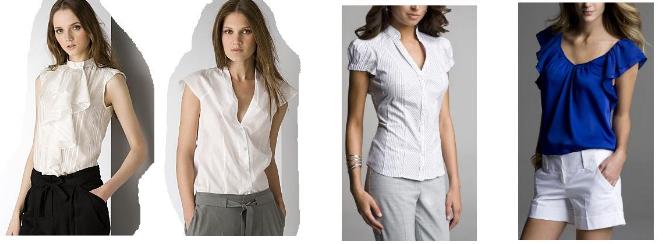 Модные Блузки 2015 Женские
